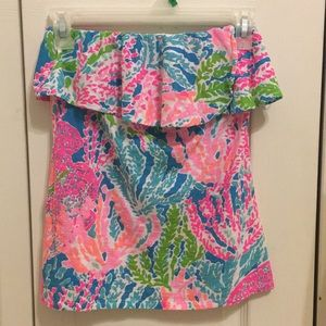 Lilly Pulitzer lets cha cha top